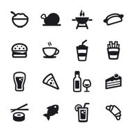 Food And Drink Icons N4