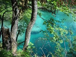 plitvice lakes nature