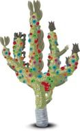cactus colorful drawing