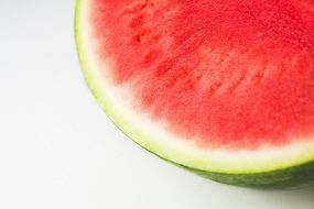 Fresh ripe sweet watermelon part