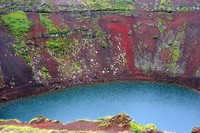 crater lake iceland