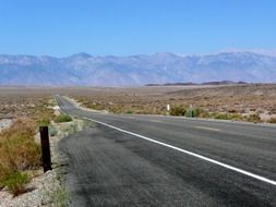 Death Valley in the national park in California