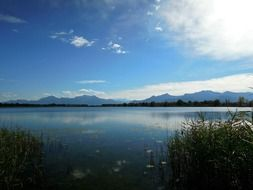 Lake in Upper Bavaria