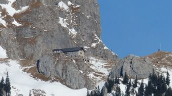 mountain hut in tyrol
