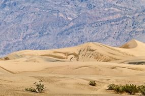 scenic death valley in california