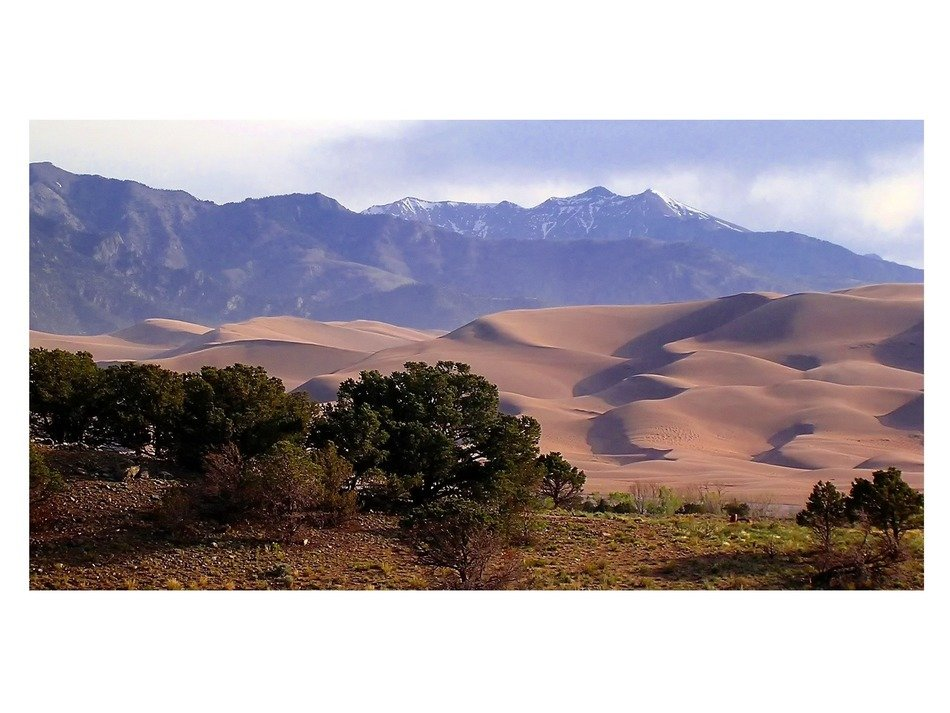 Great Dunes National Park in Colorado