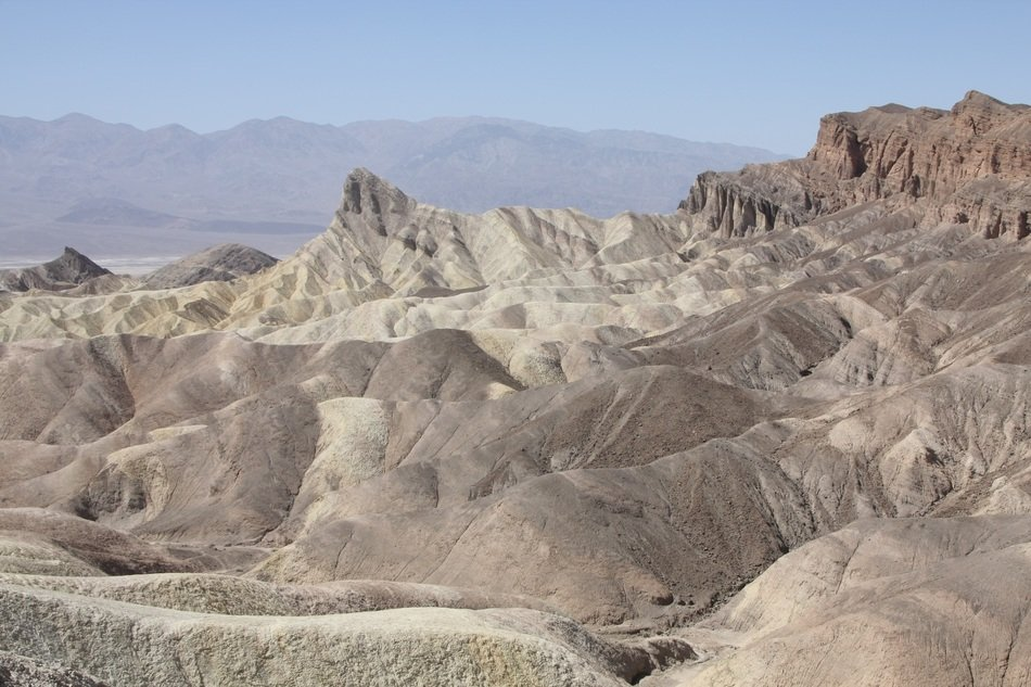 panorama of the valley of death in the usa