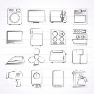 Home Appliance Icons N4
