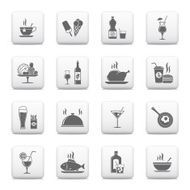 Food And Drinks Icons N20