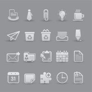 Office and Financials - Icon Set N2