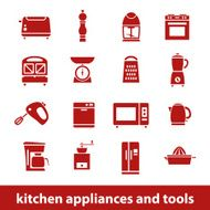 kitchen appliances and tools