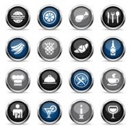 Supergloss Icons - Restaurant