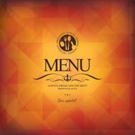 Restaurant menu design N165