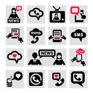 Communication Icons N46