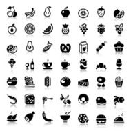 food iconset with reflex
