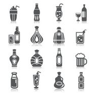 drinks icons N35