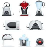 Icon Set Kitchen Appliance N3