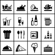 Vector Food Icons N4