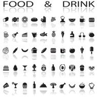 Drink and food icons N2