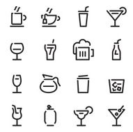 drinks icons N39