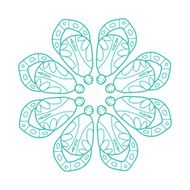 Arabesque ornament for your design N2