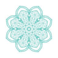 Arabesque ornament for your design N6