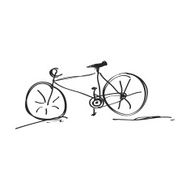Simple doodle of a bicycle N6