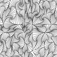Seamless angle pattern black and white