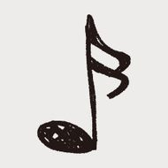 music note doodle N27