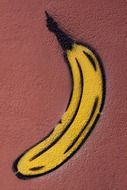 graffiti banana drawing