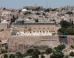 Al-Aqsa Mosque in the old city of Jerusalem