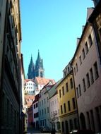 meissen dom towers alley