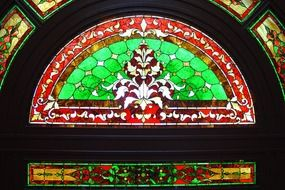 stained glass decoration