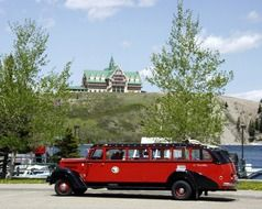 waterton provincial park car