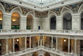 interior of Hofburg palace