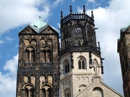 gothic cathedral tower