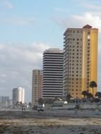 Highrise buildings in Florida