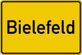 bielefeld town sign drawing