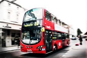 london bus red