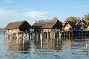 stilt houses pile dwelling museum