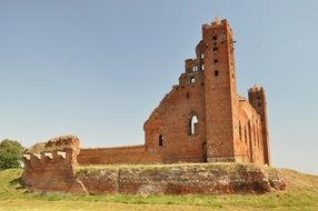 castle of the teutonic knights Poland