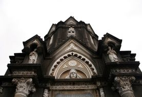 building with sculptures of Gothic art