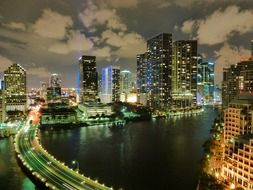 cityscape of Miami, Florida
