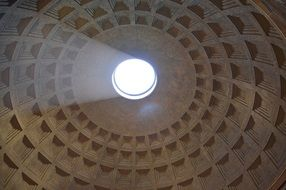 pantheon rome dome italy