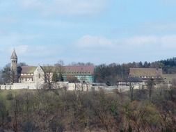 Monastery of Lorch in the valley of the Rems, Germany