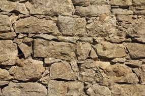 old brown stone wall texture