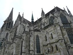 Gothic Regensburg cathedral