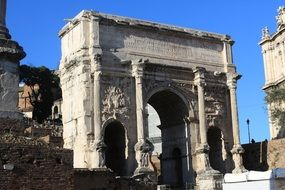 antique ruins stone architecture Rome