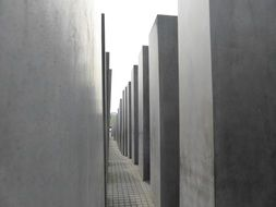 symbol of holocaust in Berlin