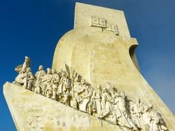 Padrão dos Descobrimentos is a monument on the northern bank of the Tagus River